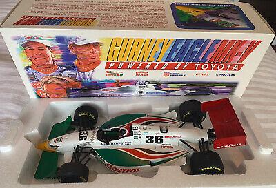 Rare Dealer Promo 1:18 Diecast UT Gurney Toyota Eagle Mk V Fangio Jr NO RESERVE