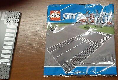 LEGO city Baseplate stradali 7281 + 7280, città strade 32x32 3 pz come nuovo