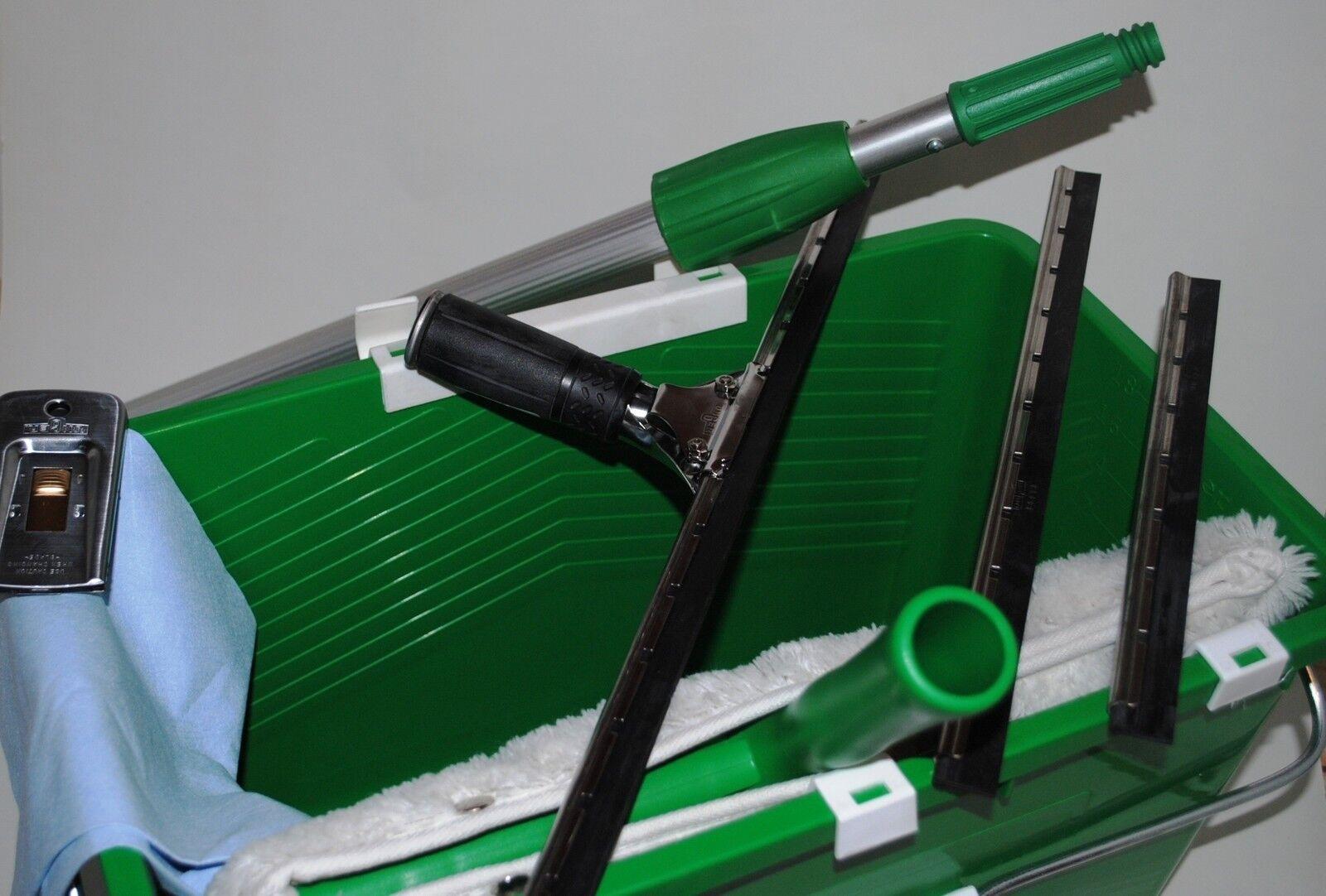 kit pro lavage vitres unger perche raclette 25 35 45 mouilleur grattoir vitre ebay. Black Bedroom Furniture Sets. Home Design Ideas