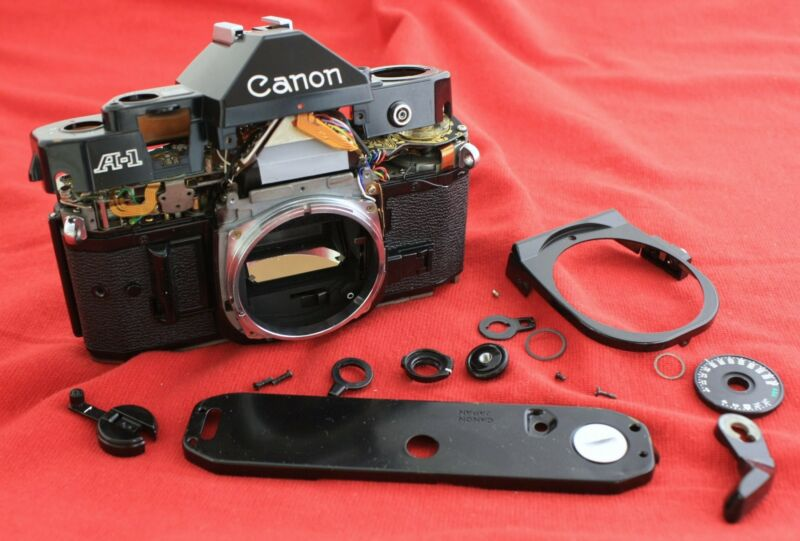 Repair or service for Canon A1 film camera