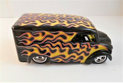 HOT WHEELS 2006 STREET SHOW DAIRY DELIVERY BLACK WITH FLAMES VARIATION LOOSE