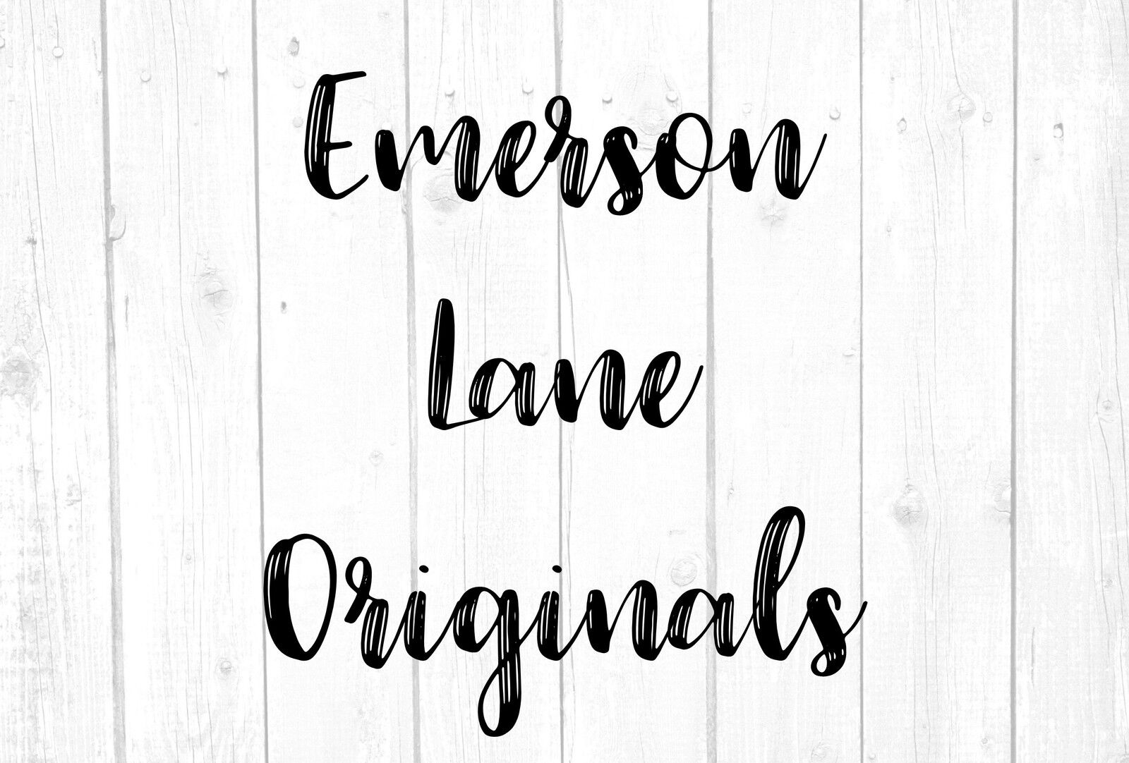 Emerson Lane Originals