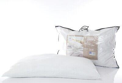 2-er Set Kissen Kopfkissen 65x100 cm Mikrofaser Weiß Allergikergeeignet