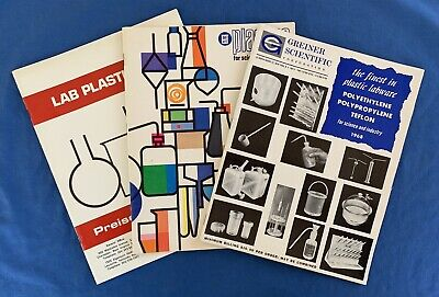 1960s Catalogs Laboratory Equipment Plastics Plasticware Lab Nalgene Science