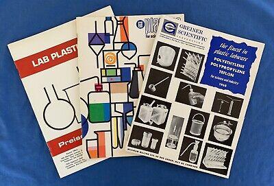 1960s Catalogs Laboratory Equipment Plastics Plasticware Lab Nalgene Science