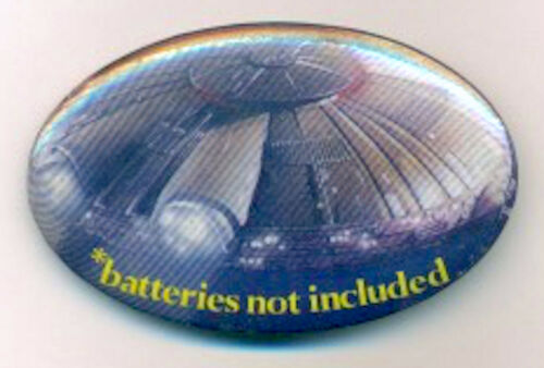 1987 *batteries not included original promo pinback button