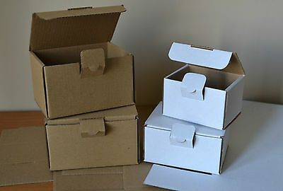 """SMALL POSTAL CARDBOARD MAILING BOXES PACK OF 10 STRONG BOXES """"MULTILISTING"""""""