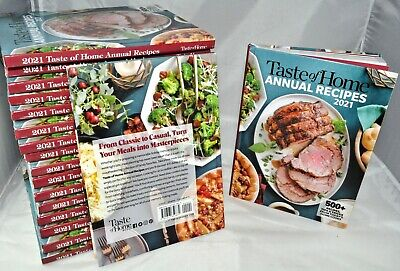 LATEST NEW 2021 Taste of Home ANNUAL RECIPES 500+ Easy Cookbook