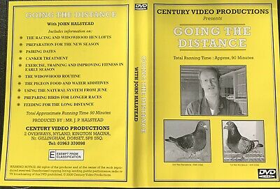 Going The Distance, With John Halstead Racing Pigeon Dvd Widowhood