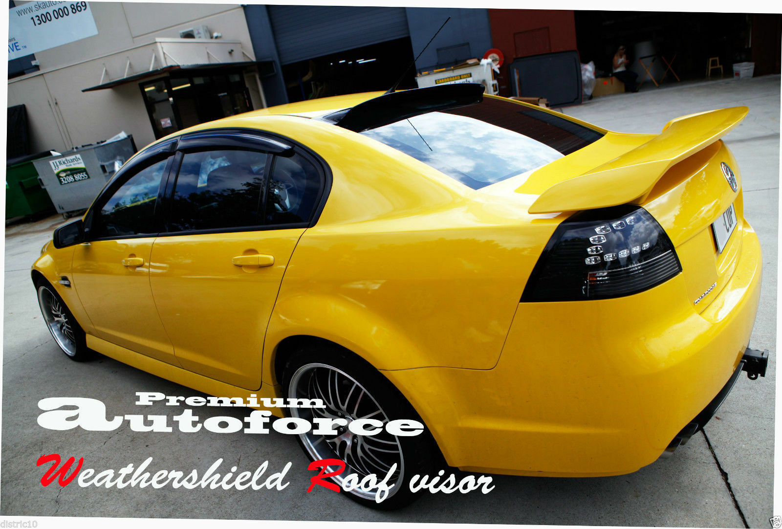 distric10 ~Auto Force Weathershield