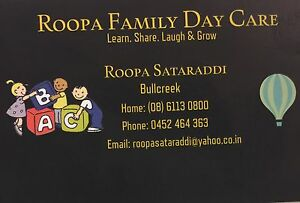 Roopa Family Day Care Bull Creek Melville Area Preview
