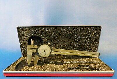 Brown Sharpe 599-578-1 Dial Caliper Measuring Range .001 Grad. Untested