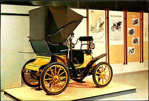 CARTOLINA-FIAT-3-HP-1899-MUSEO-DELL-039-AUTOMOBILE-ROTOCALCO-FUMERO-TORINO
