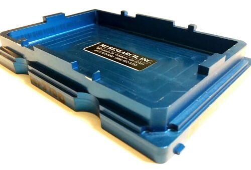 MJ Research ADR-3700 ABI Sequencer Analyzer Low Profile Skirted Plate Adapter