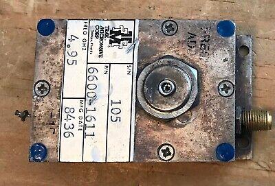 Trak Microwave Tunable Oscillator 4.95 Ghz Pn 6600-1611