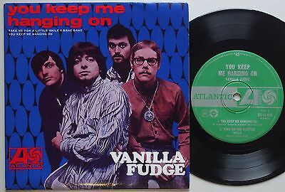 VANILLA FUDGE You Keep Me Hanging On RARE 1967 PSYCH Ep AUSTRALIA ONLY Vinyl EX