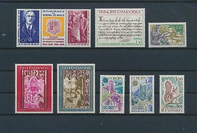 LO15708 Andorra mixed thematics nice lot of good stamps MNH