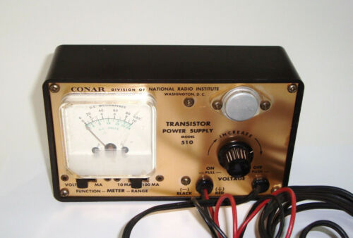 Vintage Conar Transistor Power Supply Model 510
