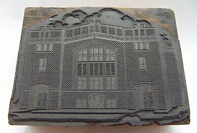 Printing Letterpress Printers Block Big Brick Building