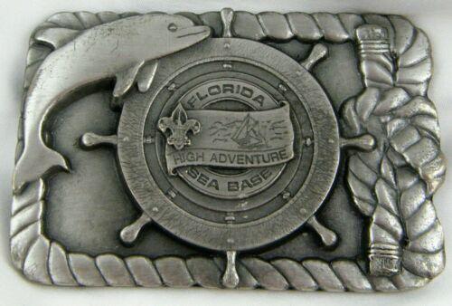 Florida Sea Base High Adventure Belt Buckle BSA Boy Scouts of America