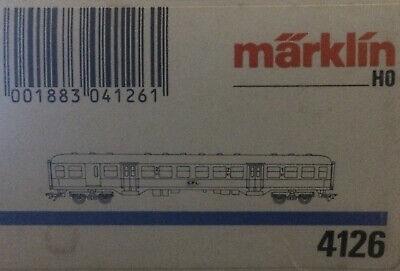 Märklin 4126 Personenwagen 1./2. Klasse der CFL, OVP,    NEU in OVP