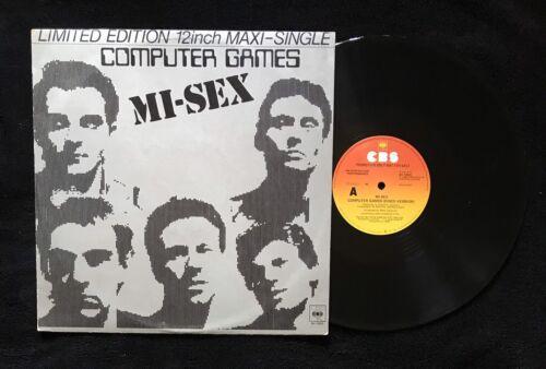"Computer Games - Mi-Sex – Computer Games, 1980, OZ 12"" NM-, PROMO, CBS – BA 12023"