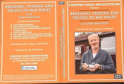 Breeding , Feeding & Tactics To Win Racing Pigeons Dvd With John Halstead