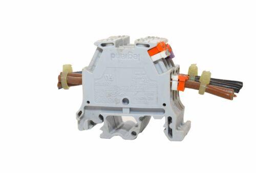 Legrand IEC-947-7-1 Terminal Block - Lot of 4