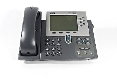 Cisco 7960g Unified Ip Phone Sip Voip Phone Poe Business Telephone Cp-7960g
