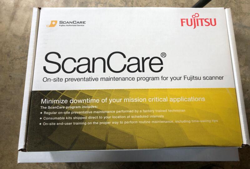 Fujitsu Scancare on site maintenance program CG01000-508001 FI-5650C 5750C kit