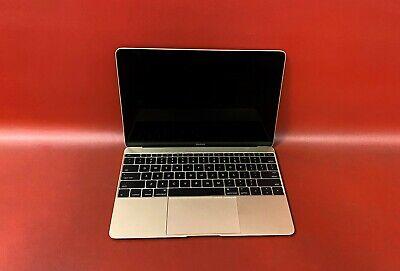 "Apple MacBook 12"" Retina E 2015 Intel M-5Y51 1.2GHz 8GB RAM 512GB SSD Catalina"