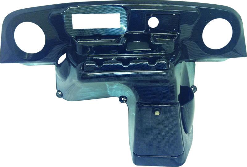 EZGO TXT (96-13) Golf Cart Elite Radio Dash Cover in Carbon Fiber