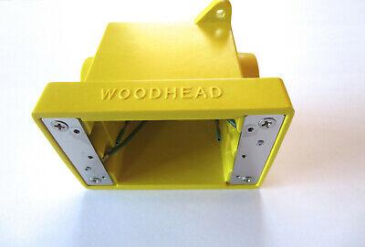 Daniel Woodhead Fd Outlet Box 84u9 Yellow 21.8 Cubic Inches 34 Hub