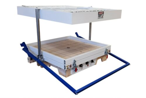 """Vacuum former 24""""x24"""" (610x610mm),Thermoforming Machine, Vacuum forming machine"""