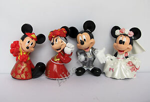 mickey minnie mouse lovely prefect wedding cake topper