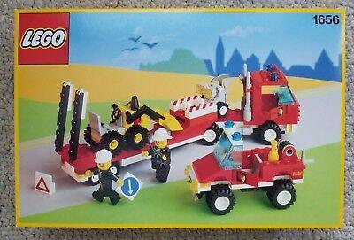 Lego 1656 Vintage Evacuation Team - 1980's - NISB, MISB, Brand New