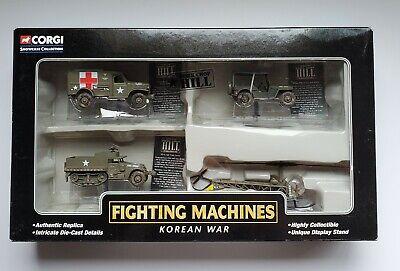 Corgi Classics Korean War Fighting Machines Showcase Collection Diecast Replicas