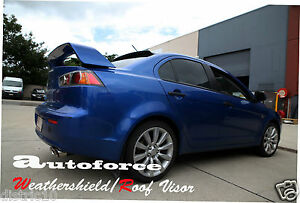 MITSUBISHI LANCER/EVO SEDAN 2008-2015 CJ REAR SCREEN ROOF VISOR SPOILER BODY KIT