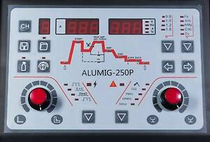 ALUMIG-250 DOUBLE PULSE SYNERGIC INVERTER MIG WELDER Canning Vale Canning Area Preview
