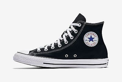 (Converse Chuck Taylor All Star High Top Canvas Men Shoes M9160 - Black/White)