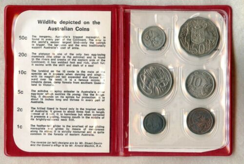 AUSTRALIA ~ 1971 ~ MINT SET ~ 6 COIN