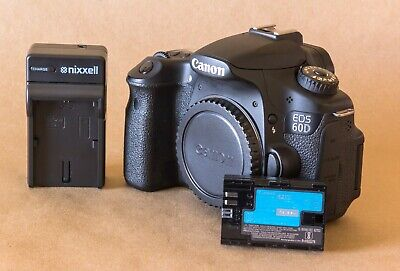 Canon EOS 60D 18.0MP Digital SLR Camera / Converted To Black And White Infrared