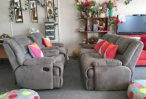 DELIVERY TODAY COMFORTABLE RECLINERS Sofas set MODERN GREY COLOR Belmont Belmont Area Preview