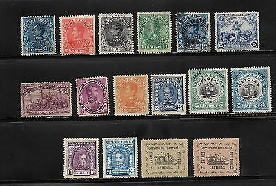 COLLECTION OF VENEZUELA STAMPS USED AND UNUSED