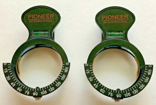 Pioneer International - 2 Trial Clips w/ Level - Over Refraction -