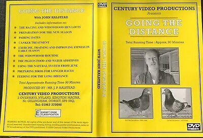 Going The  Distance Widowhood Racing Pigeon Dvd With John Halstead