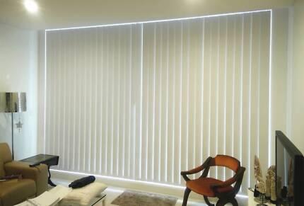 Vertical Blinds + Installation