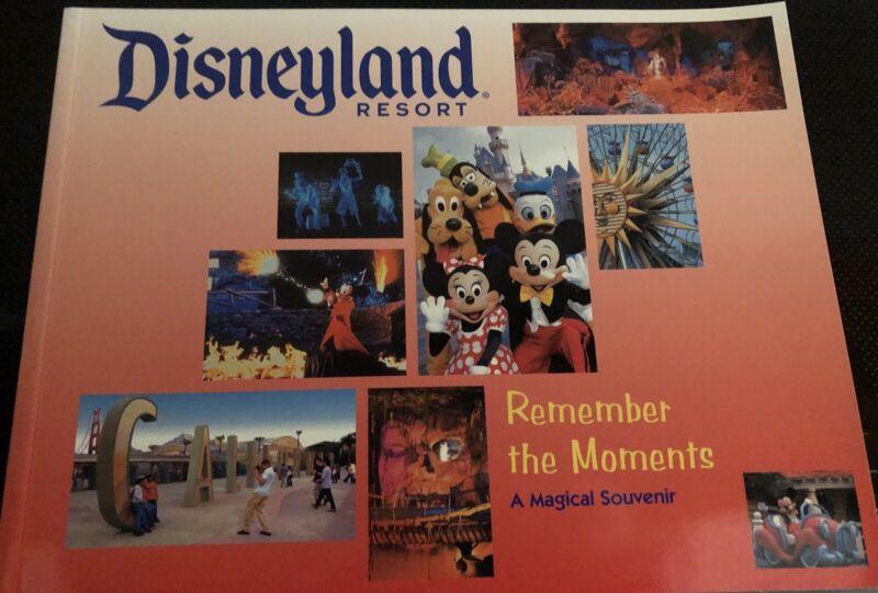 Disneyland Souvenir Book Remember the Moments 2005