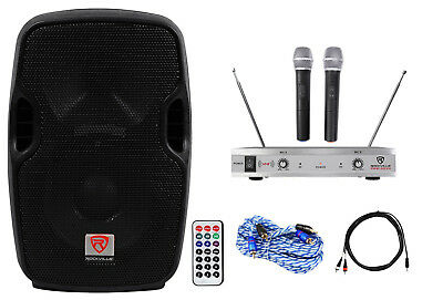"Rockville Pro Powered 8"" Karaoke Machine/System 4 ipad/iphone/Android/Laptop/TV for sale  Shipping to South Africa"