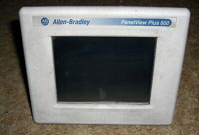 Allen-bradley Panelview Plus Compact 600 2711pc-t6c20d Ser.d